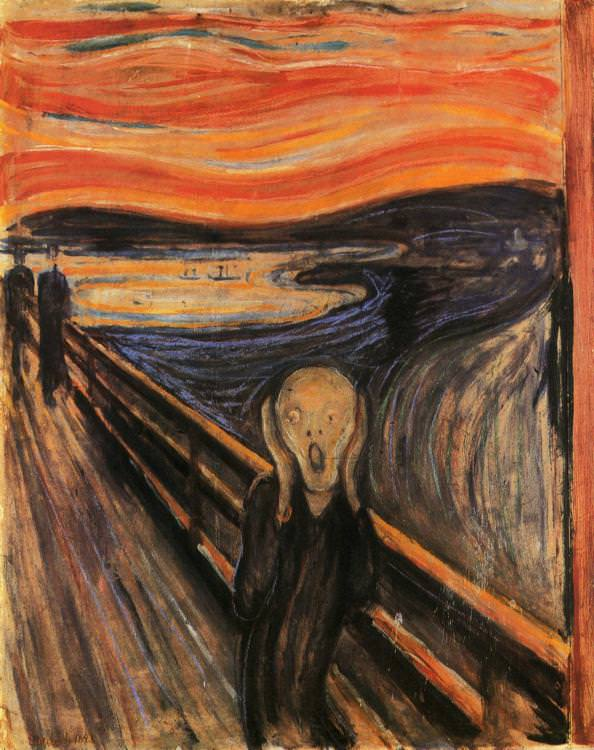 the-screamby-edvard-munch